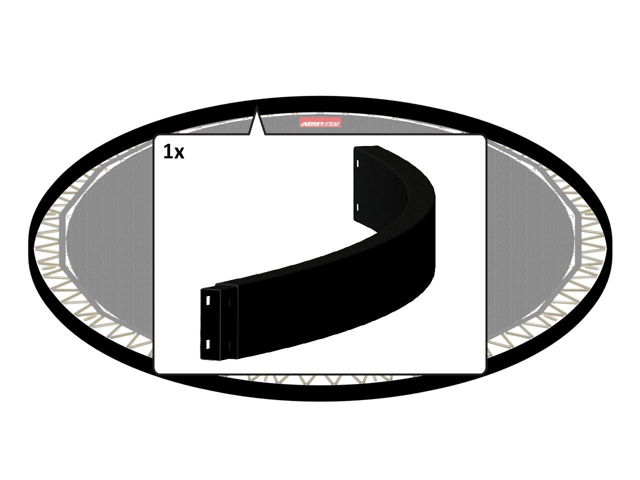 Flatground Champion - Frame Tube (Toprail) 380 (12,5ft)