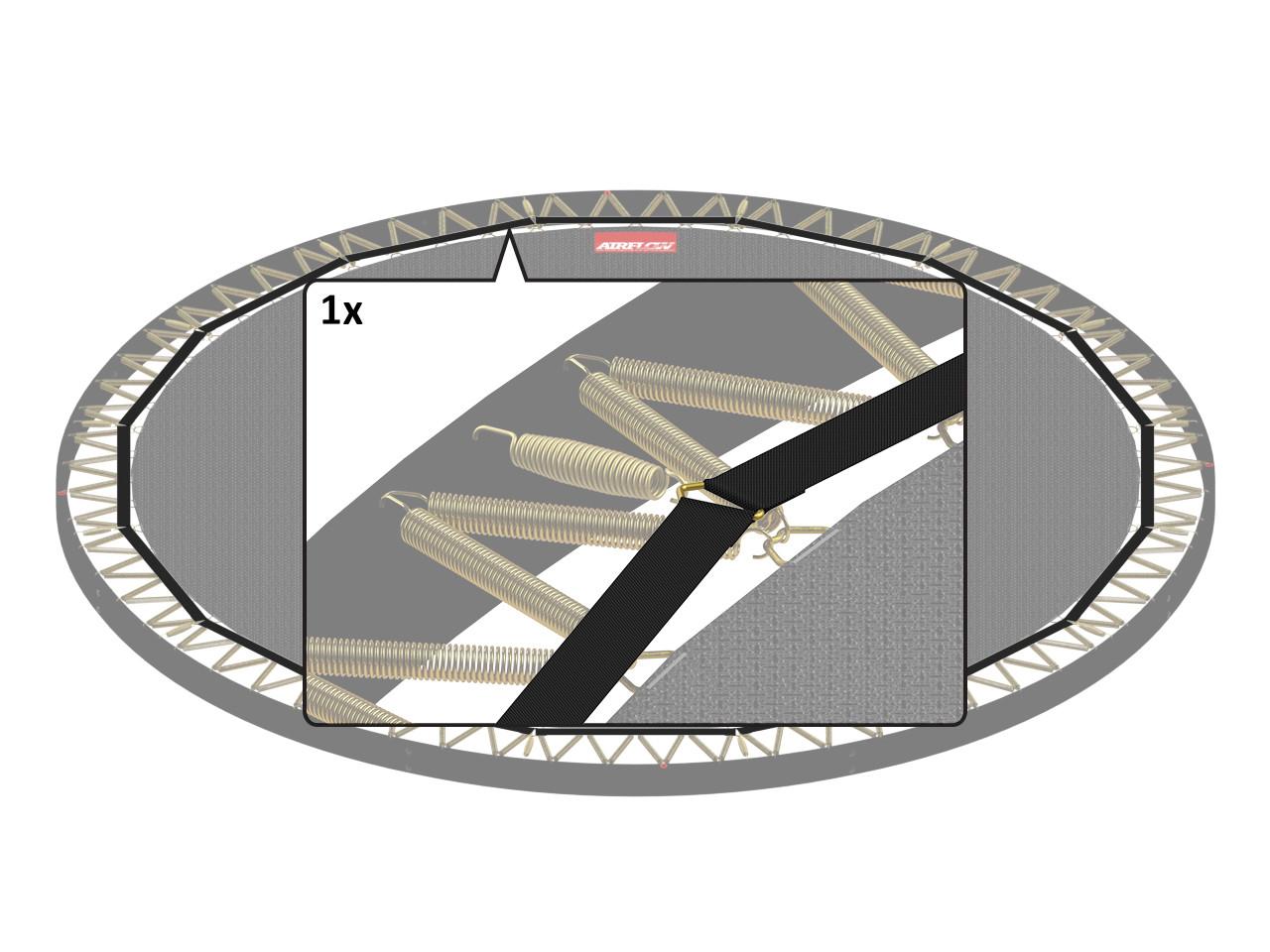 Flatground Champion - Padding Band  380 (12,5ft)
