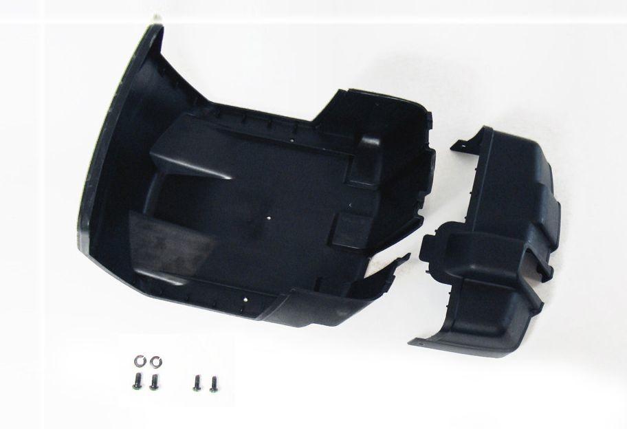 XL Frame - Chain guard rear part