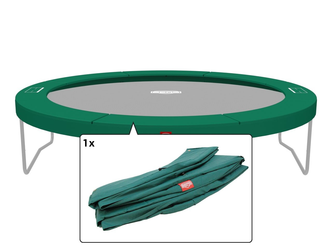 Champion - Beschermrand groen 380