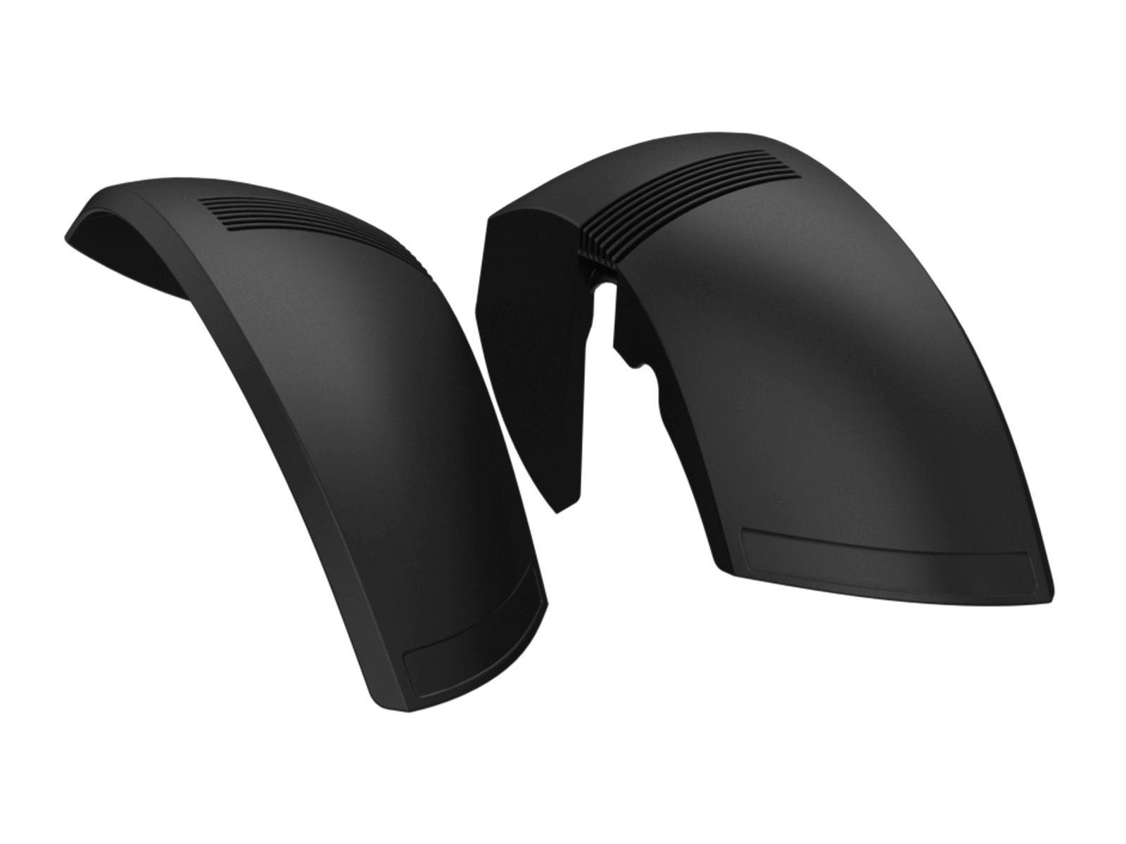 XL Frame - Achterspatborden 71° zwart