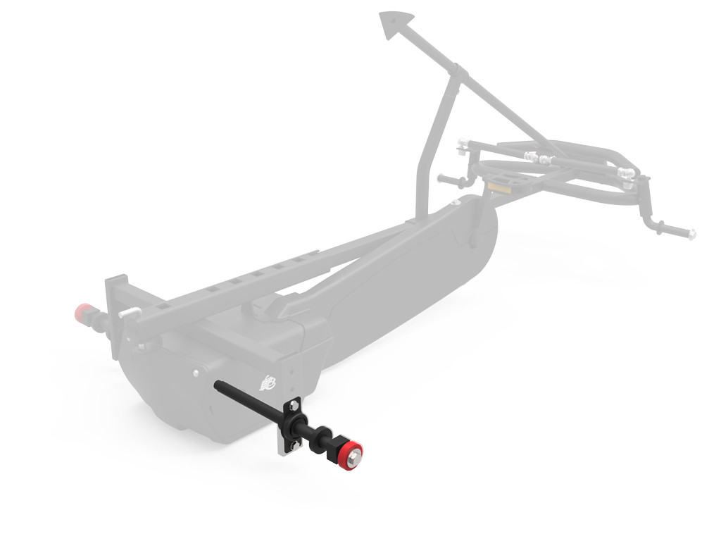 XL Frame - Rear axle right