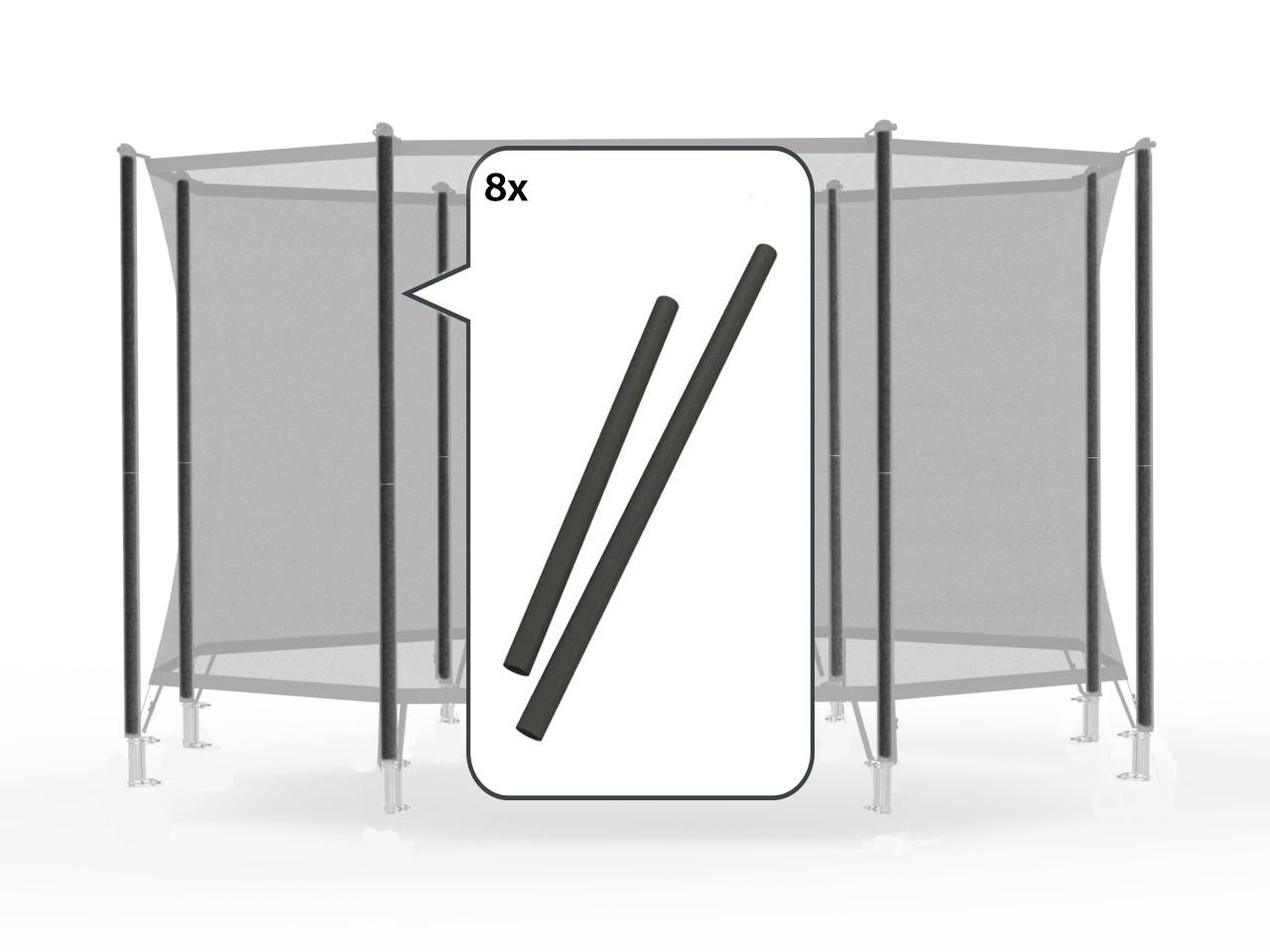Safety Net Comfort - Set schuimdelen zwart