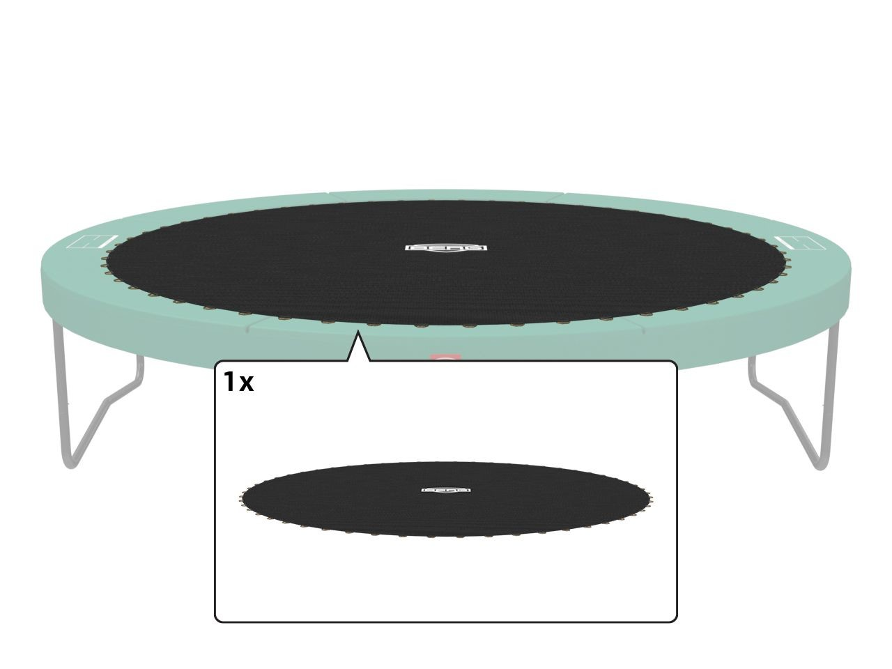Champion - Jump mat 270 (9ft) (TwinSpring)