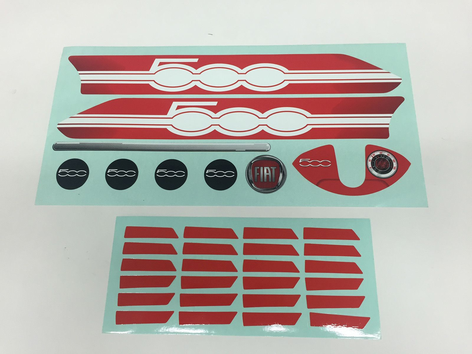 Buzzy - Sticker set Fiat 500