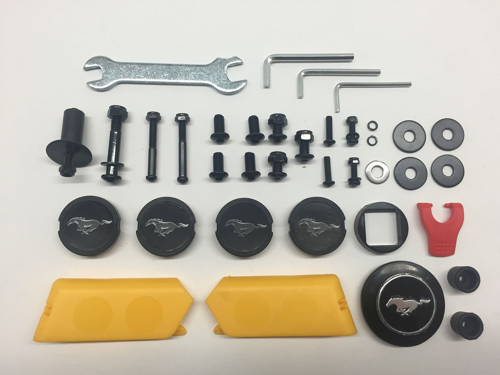 Rally - Assembly set Ford Mustang GT