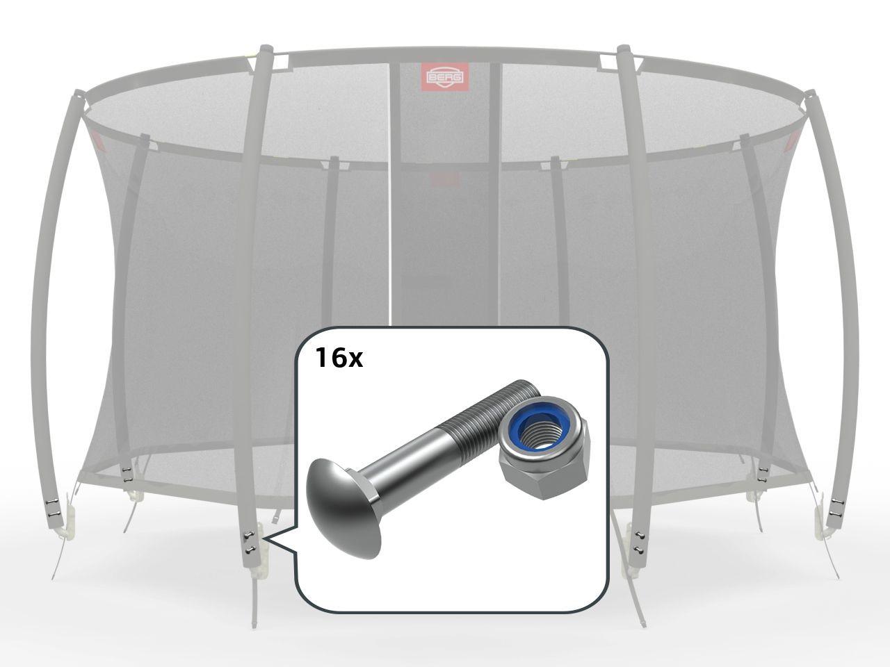 Safety Net T-Series - Montageset voor klemmen
