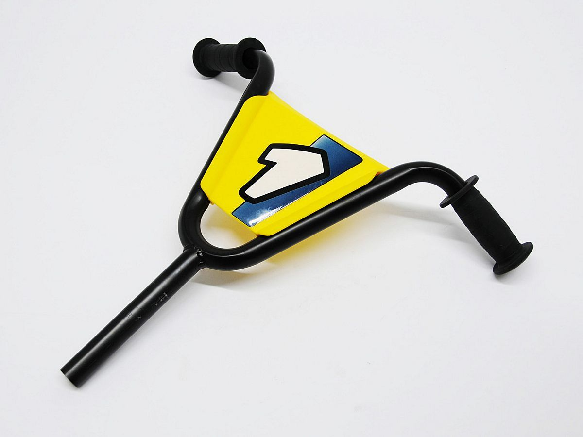 Buzzy - Steering  black incl. spoiler Yellow