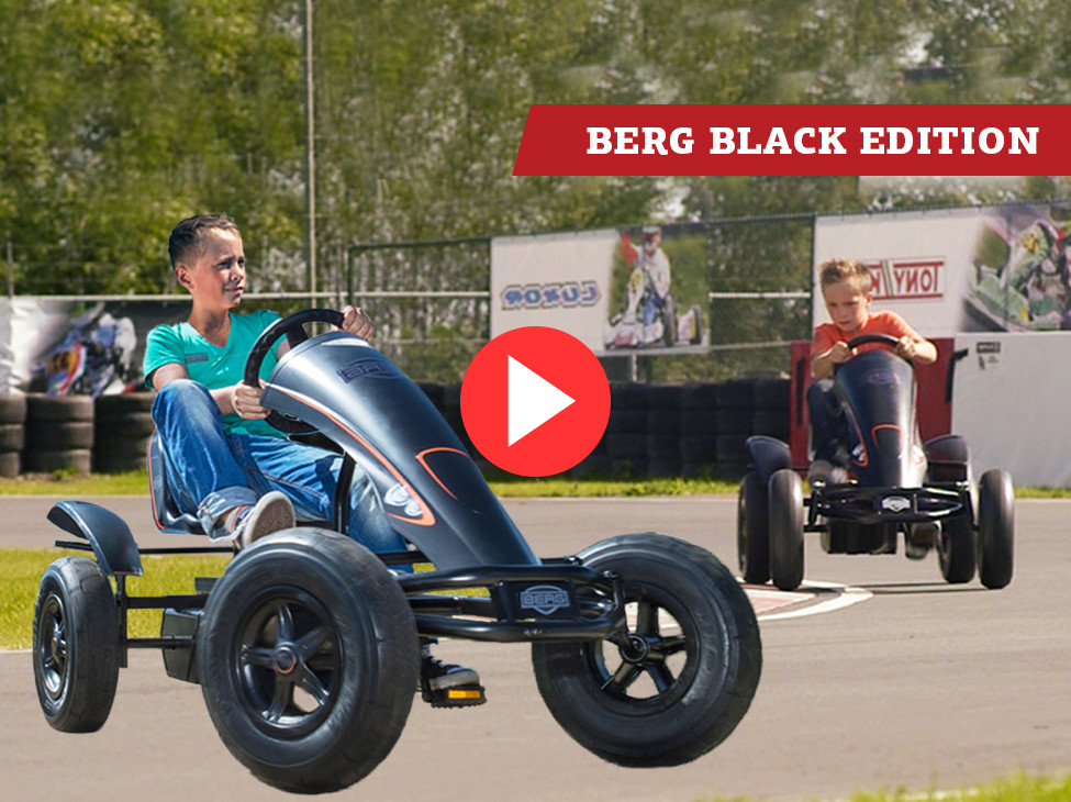 BERG Black Edition kart à pédales