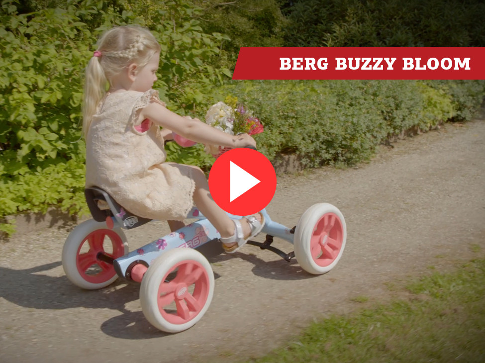 BERG Buzzy Bloom pedal go-kart