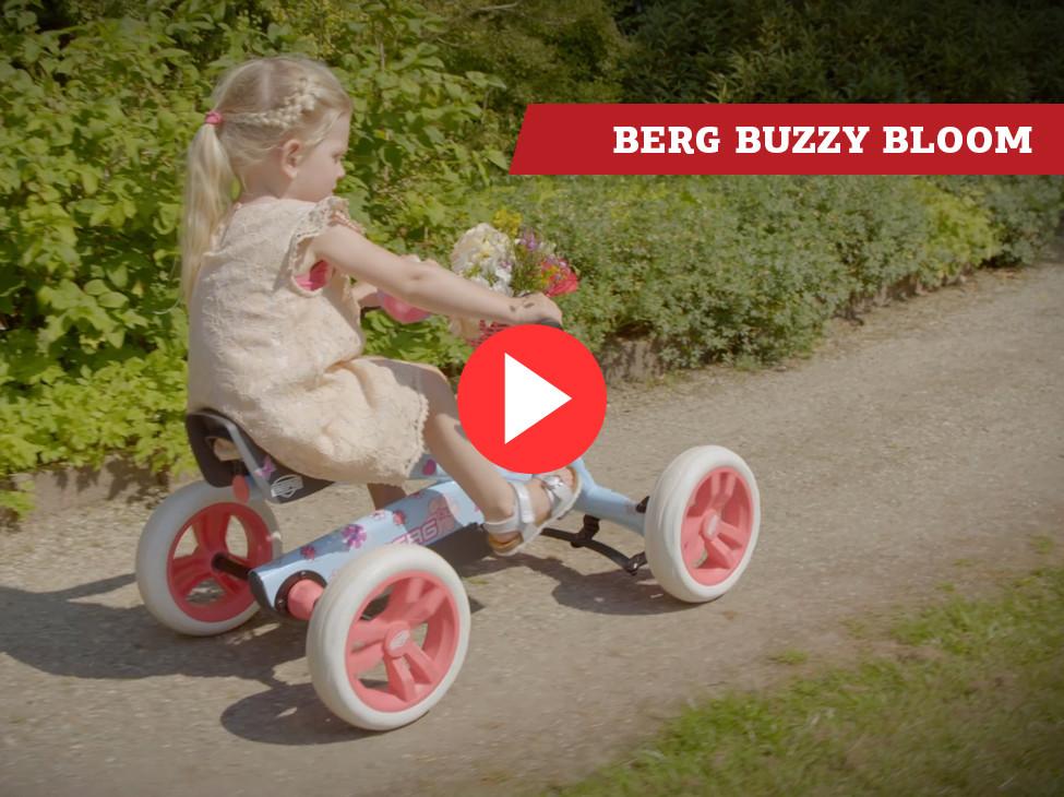 BERG Buzzy Bloom pedal go-kart