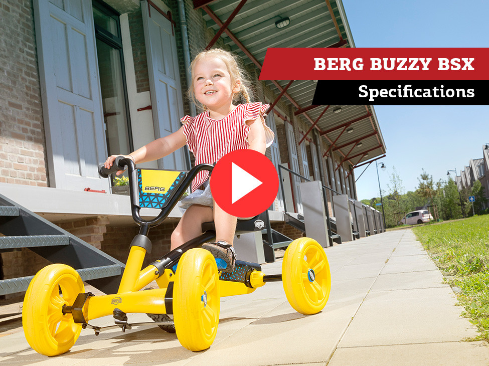 BERG Buzzy BSX pedal go-kart | specifications