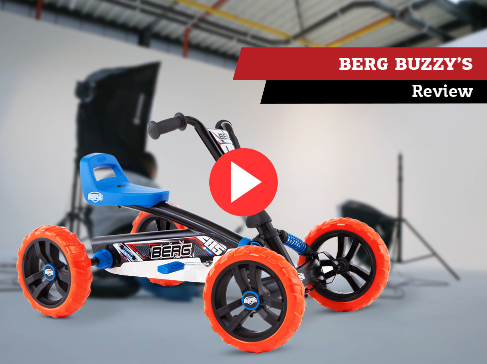 Review   BERG Buzzy pedal go-kart