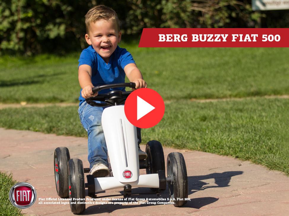 BERG Buzzy Fiat 500 Pedal-Gokart
