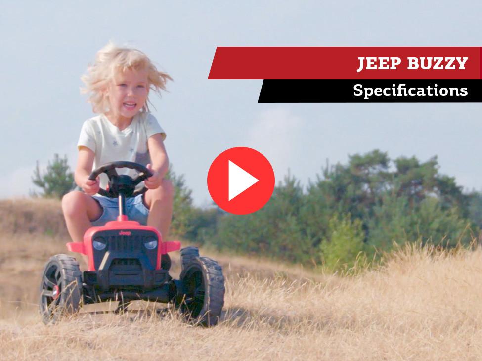 BERG JEEP Buzzy skelters | specificaties