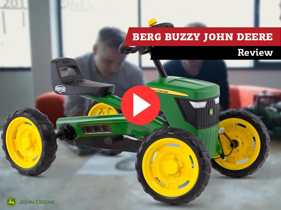 Revue   BERG Buzzy John Deere kart à pédales