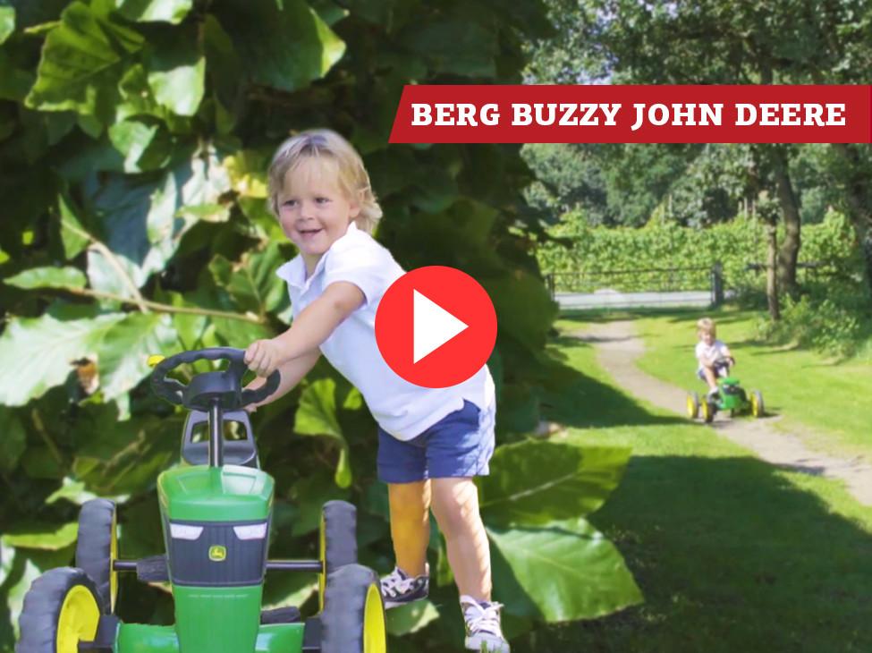 BERG Buzzy John Deere pedal go-kart