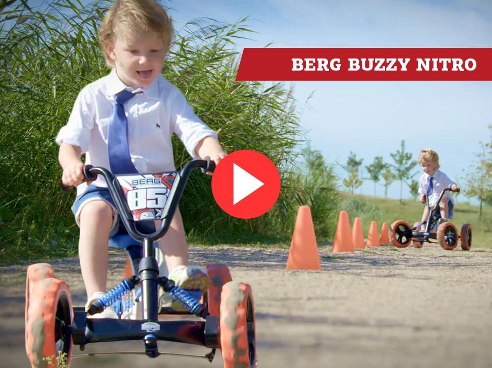 BERG Buzzy Nitro pedal go-kart