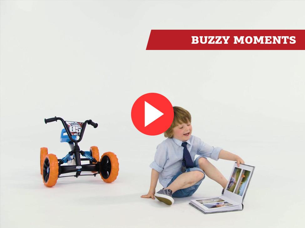 Des moments BERG Buzzy kart à pédales   spécifications