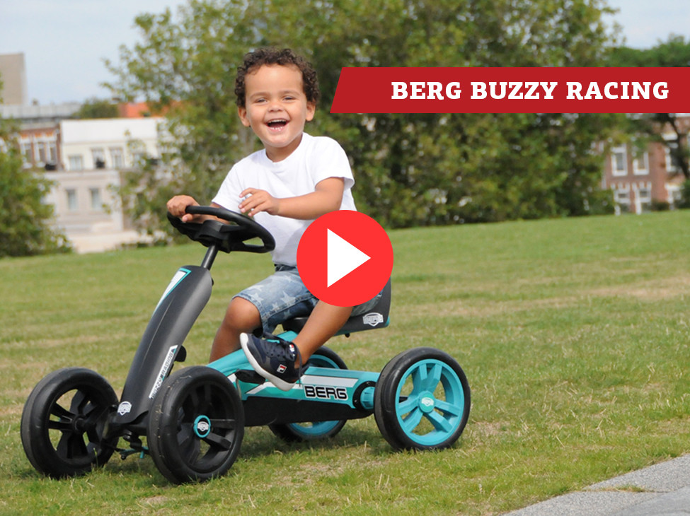 BERG Buzzy Racing kart à pédales