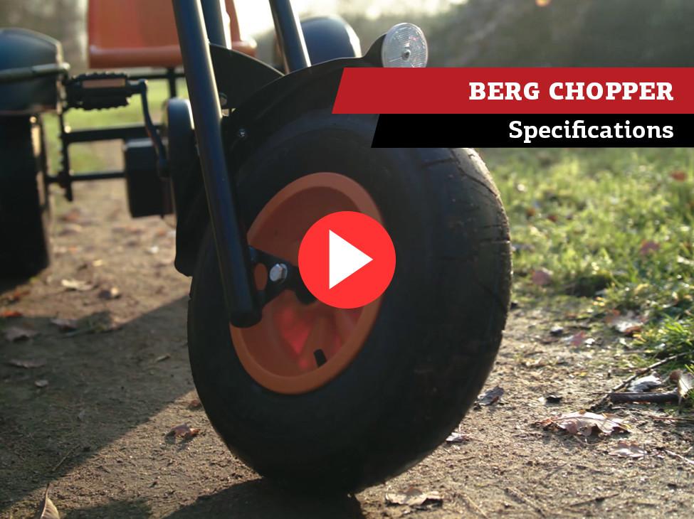BERG Chopper BFR pedal go-kart | specifications