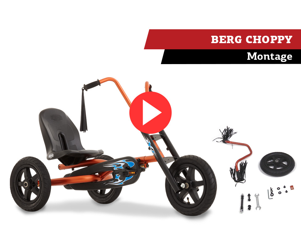 BERG Choppy pedal go-kart | assembly movie