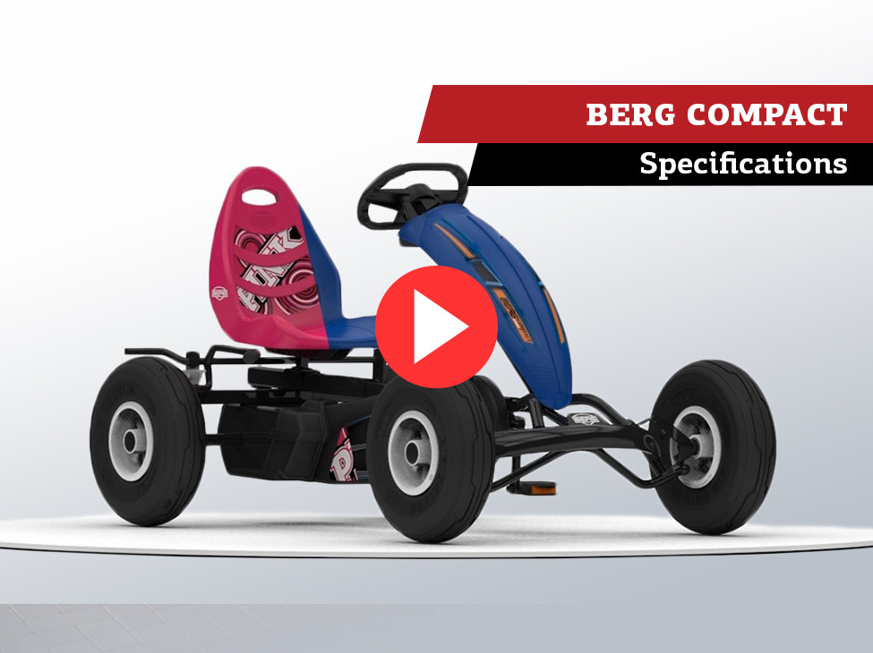 BERG Compact Sport & BERG Pink pedal go-karts   specifications