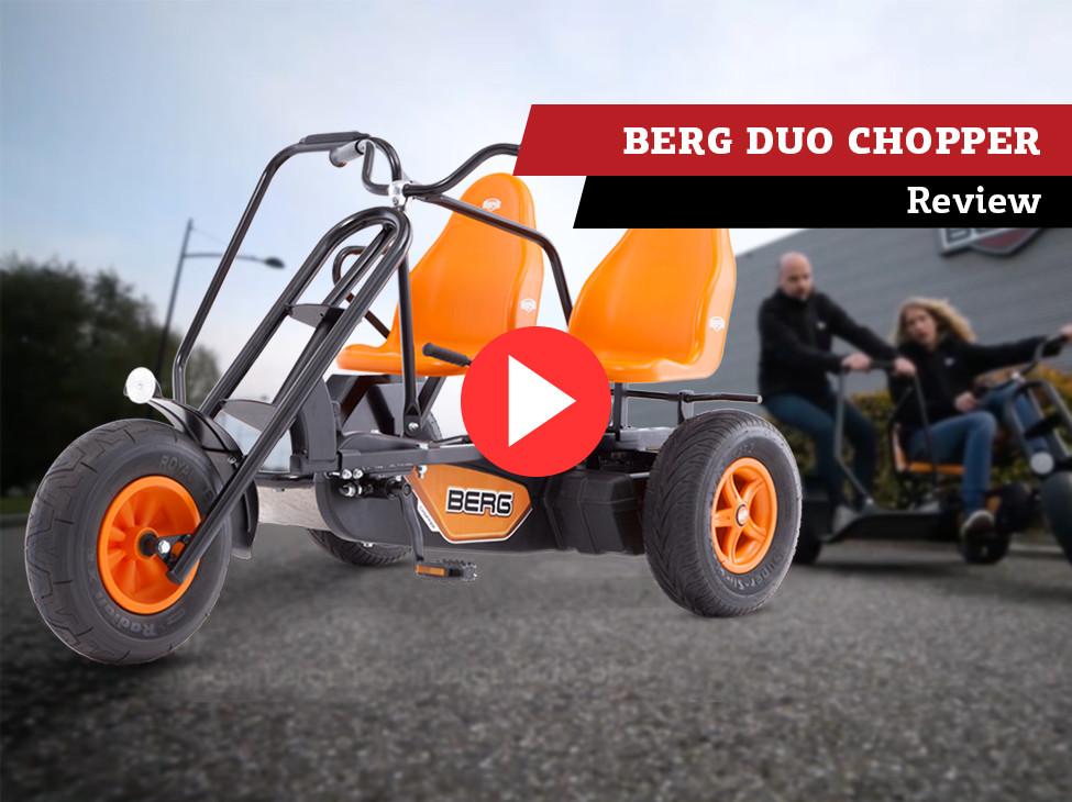 BERG Duo Chopper BF kart à pédales