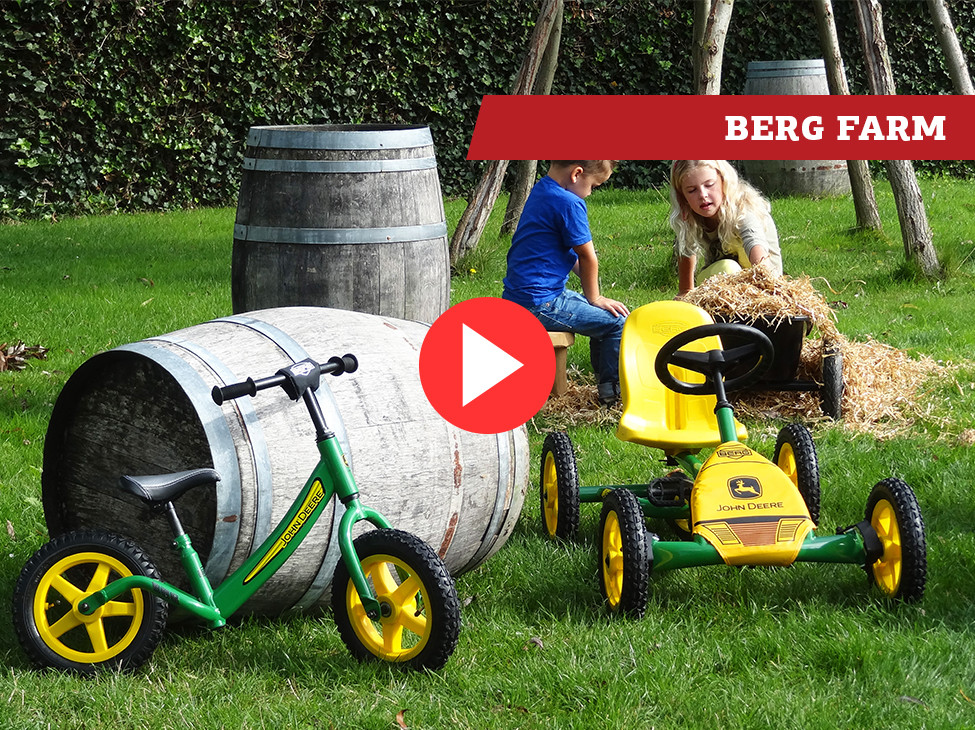 BERG Farm karts à pédales