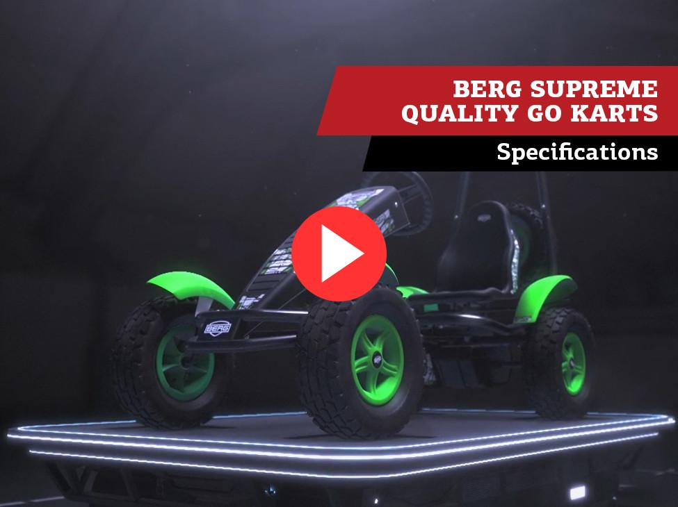 BERG Supreme Quality Go Karts   specificaties