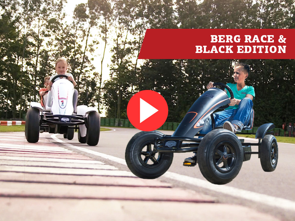 BERG Race & BERG Black Edition Pedal go-karts