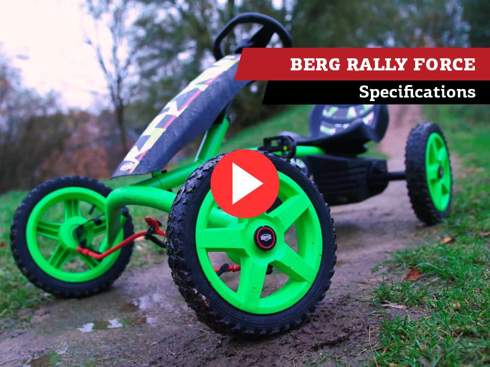 BERG Rally Force kart à pédales | spécifications