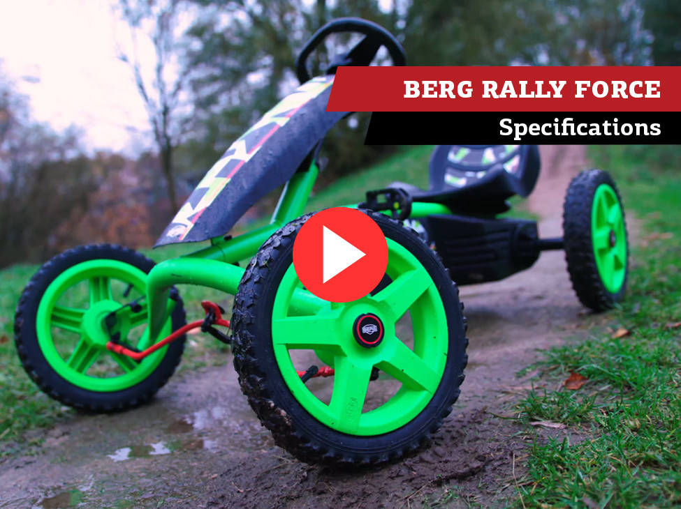 BERG Rally Force pedal go-kart | specifications