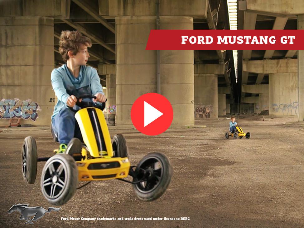 BERG | Ford Mustang GT pedal go-kart