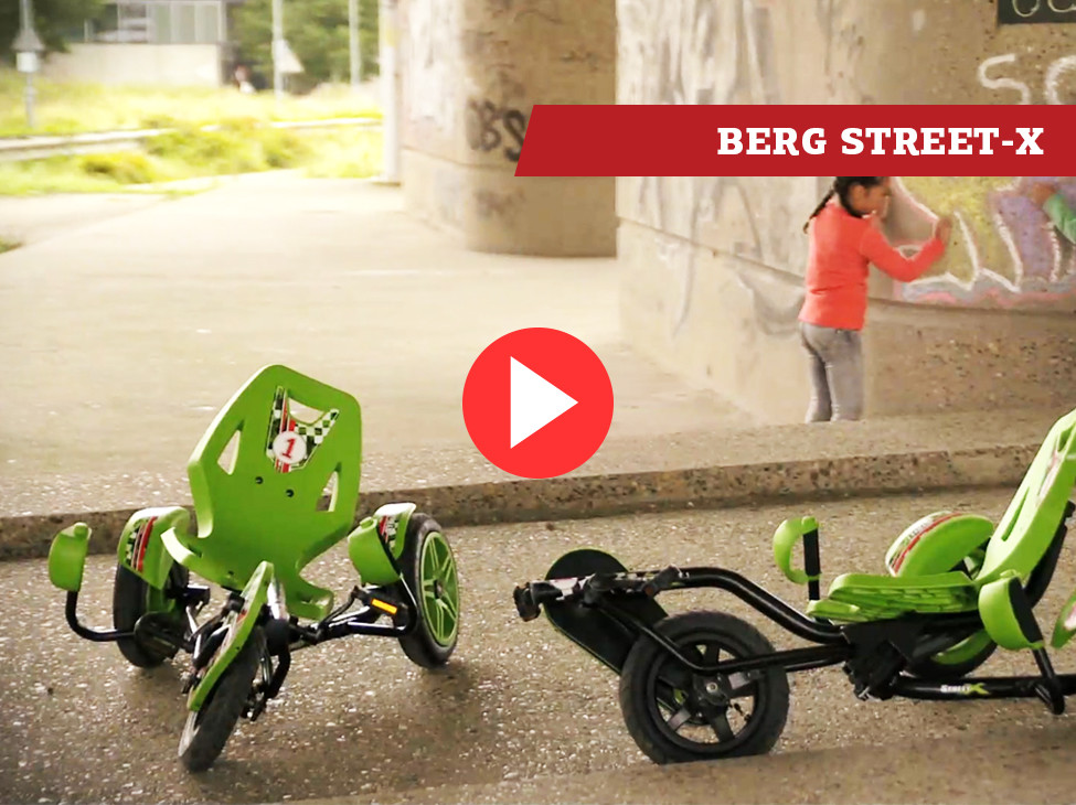 BERG Street-X pedal go-kart
