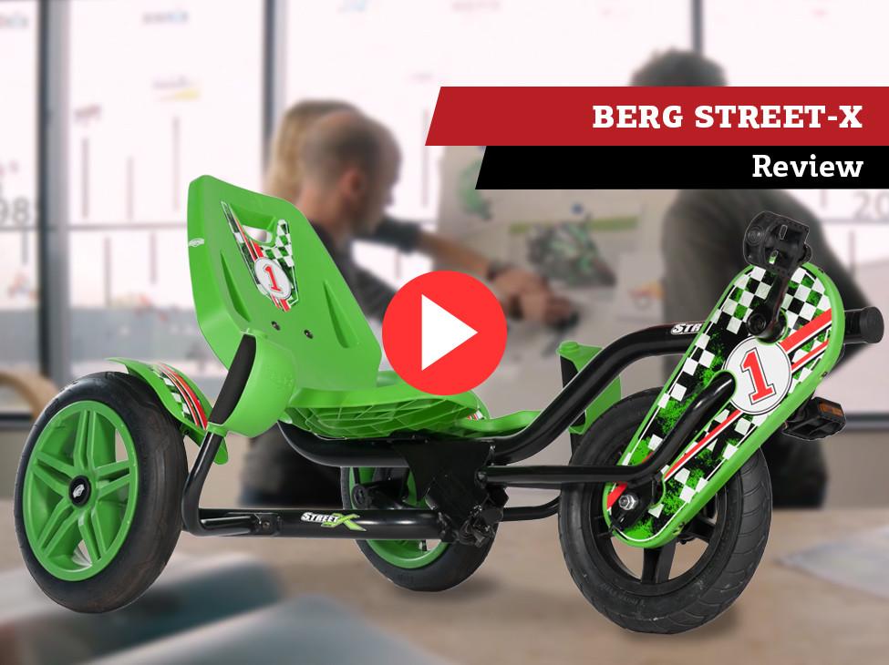 Review | BERG Street-X pedal go-kart