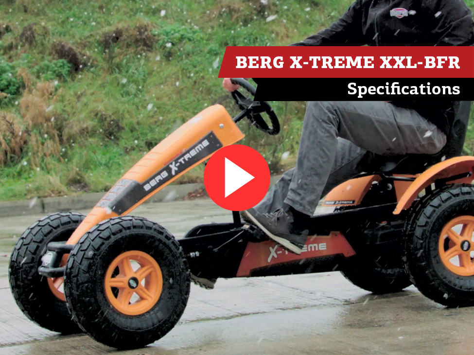 BERG X-Treme XXL BFR pedal go-kart | specifications