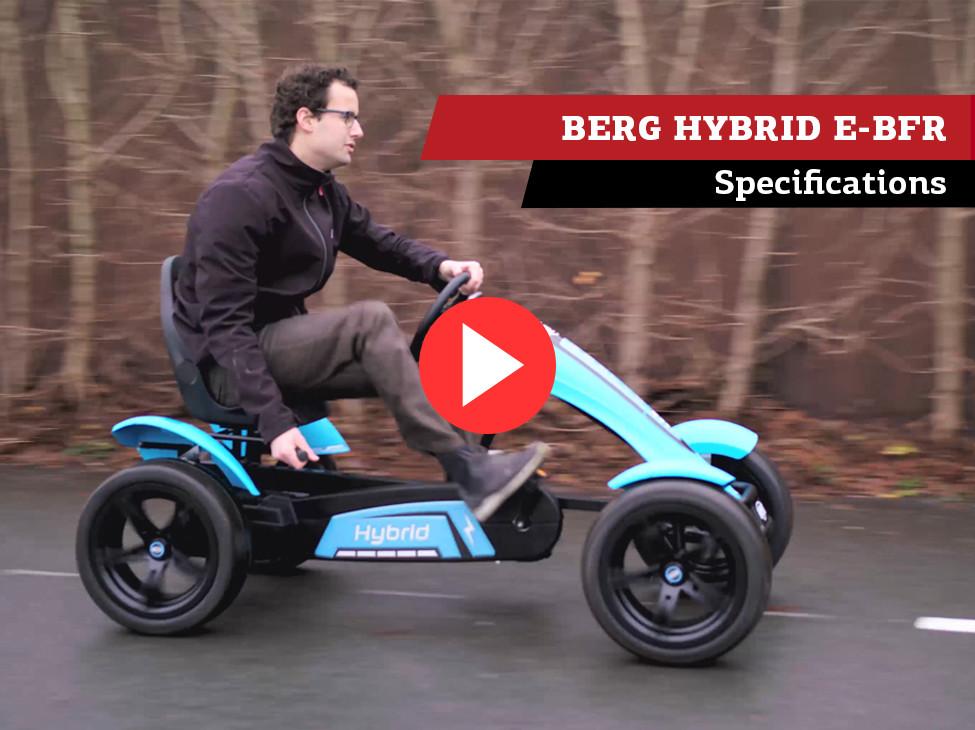 BERG Hybrid E-BFR pedal go-kart   specifications