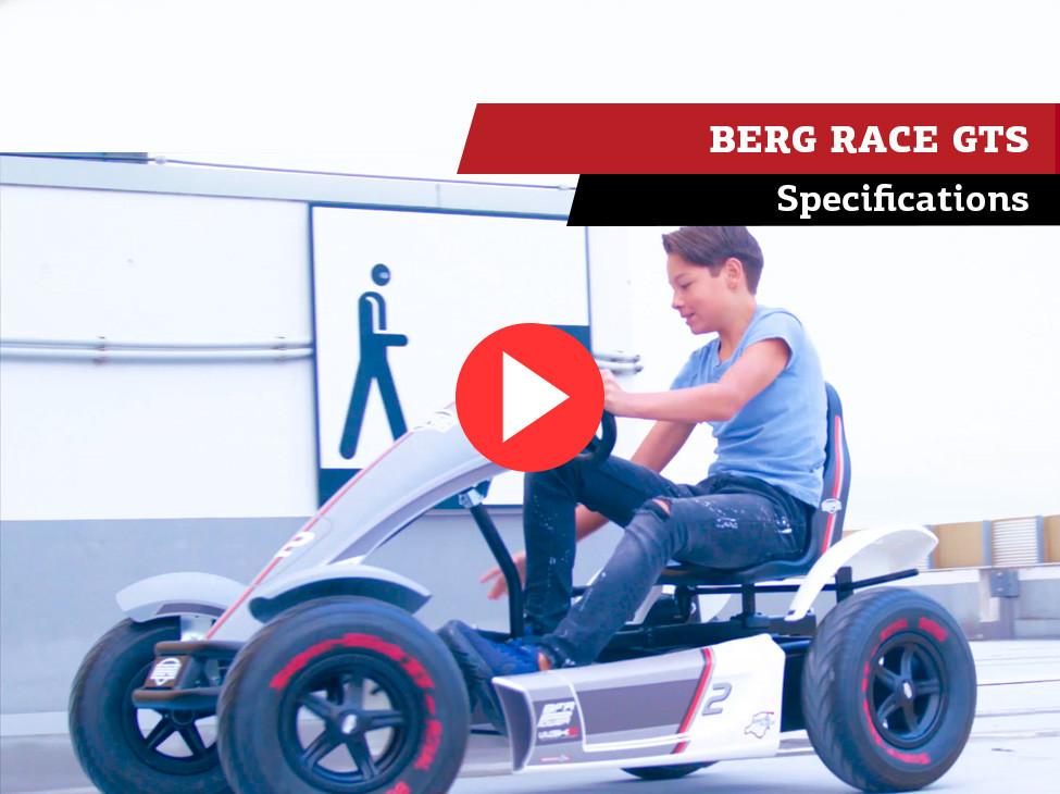 BERG Race GTS pedal-gokart | specifications