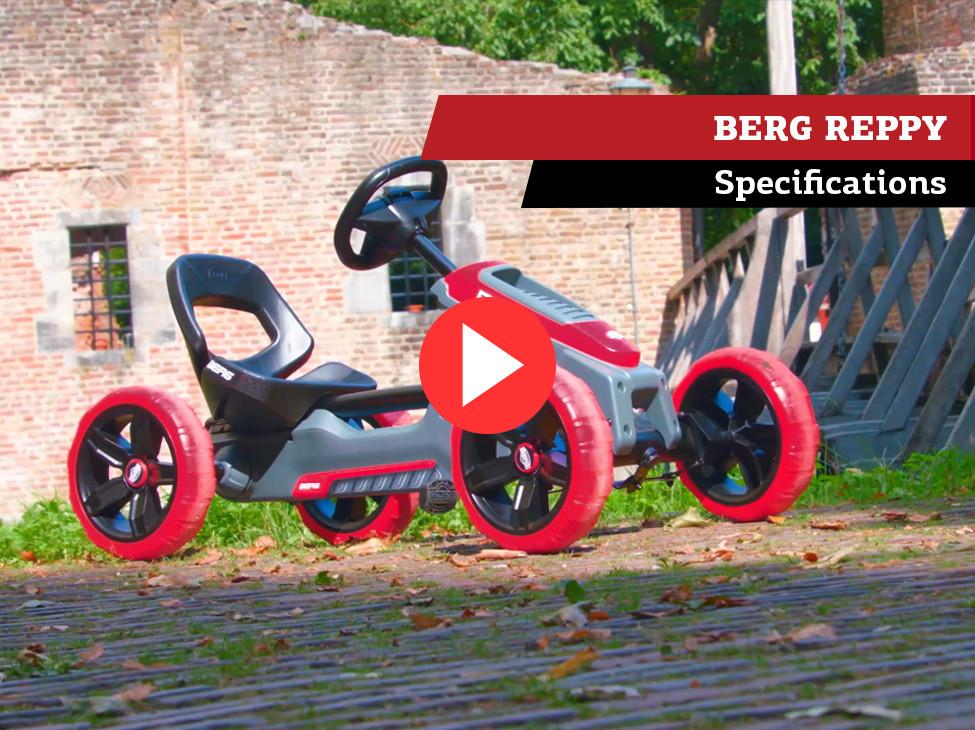 BERG Reppy kart à pédales | spécifications