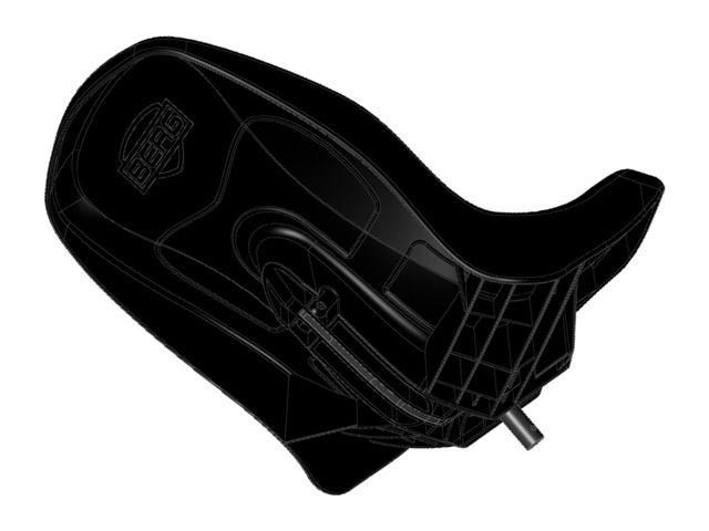 Buddy - Seat black incl. frame