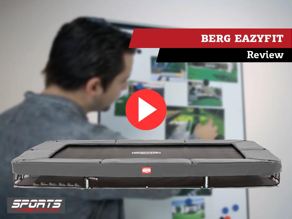 Review   BERG EazyFit trampoline