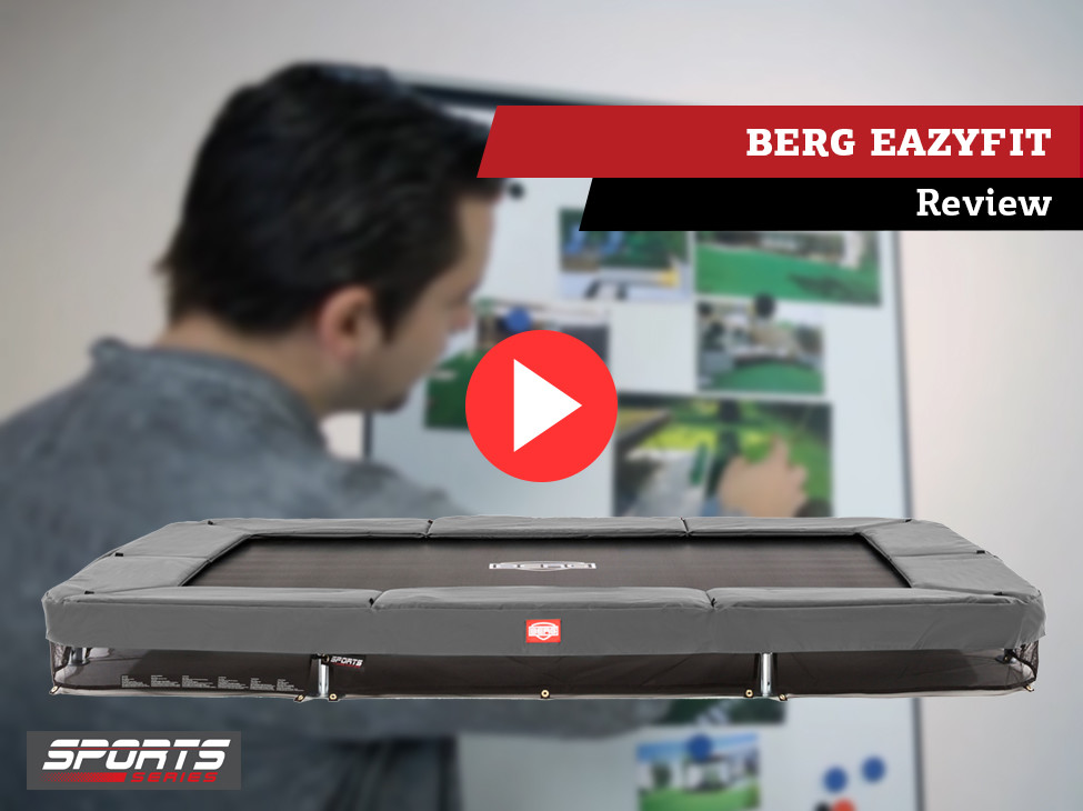 Review | BERG EazyFit trampoline