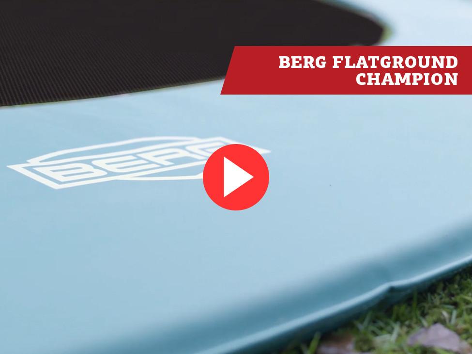 BERG FlatGround Champion trampoline