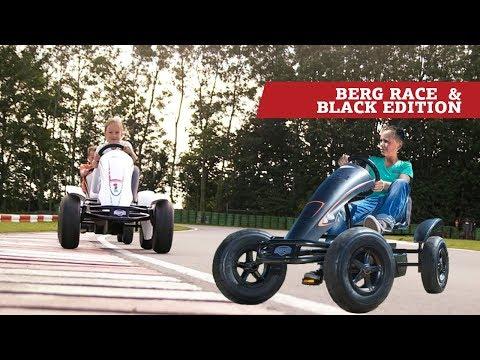 BERG Race & BERG Black Edition Pedal go-karts