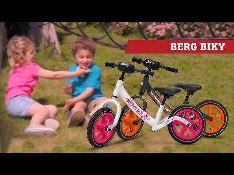 BERG Biky White & BERG Biky Grey loopfiets