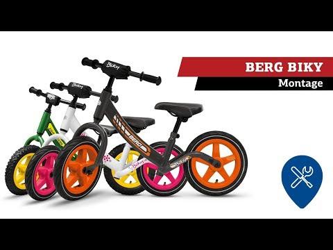 BERG Biky loopfiets | montage