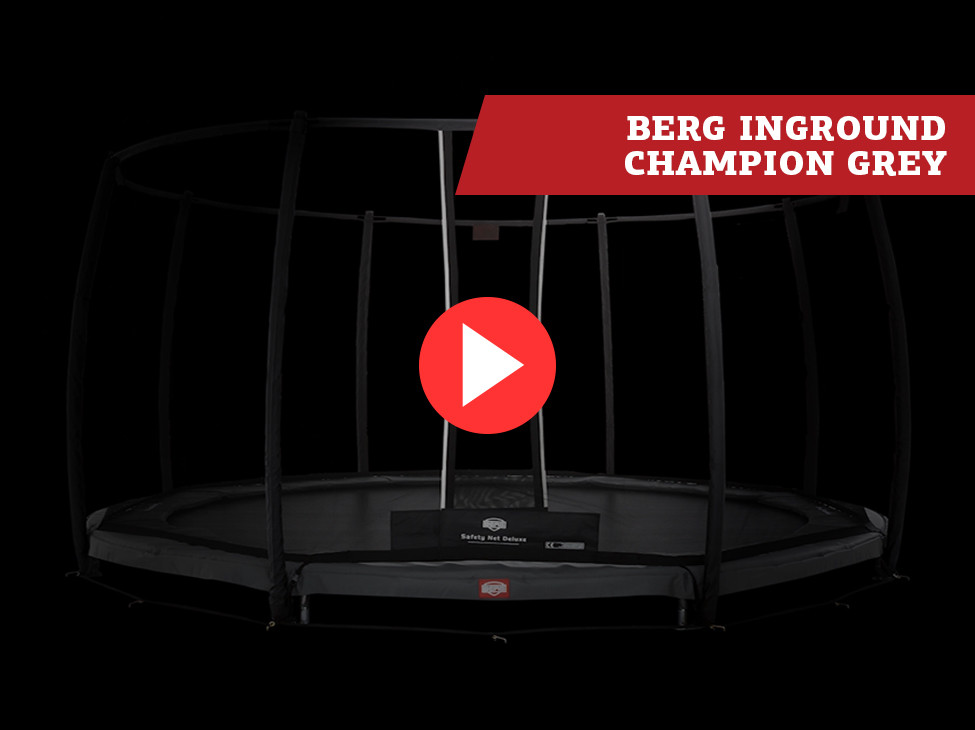 BERG InGround Champion Grey trampoline