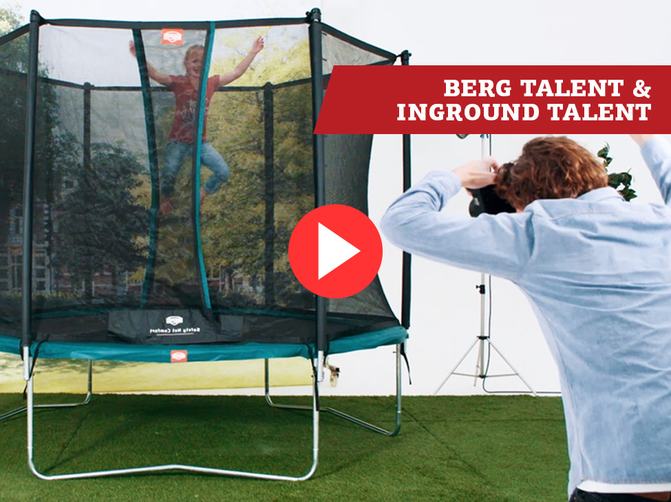 BERG Talent & InGround Talent trampoline