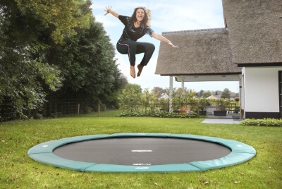FlatGround trampoline